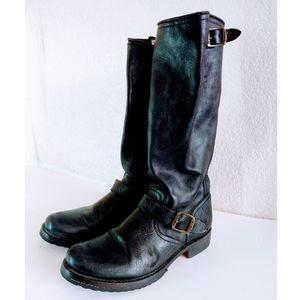 Frye Moto Boots Size 9.5